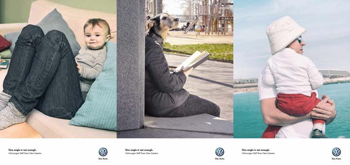 Una campaña publicitaria genial, se mire como se mire