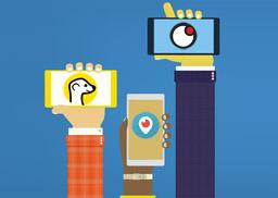 Aplicaciones de streaming para redes sociales: Meerkat, Periscope y Upclose