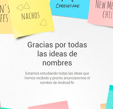 Android 7.0 Nougat: ¿por qué un nombre tan dulce?