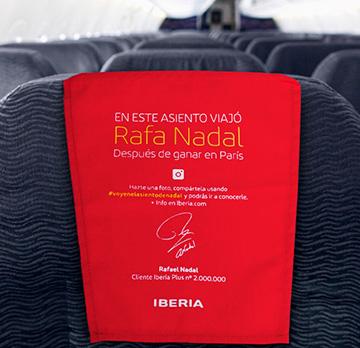 Claves para una buena campaña de marketing online: Iberia y Rafa Nadal