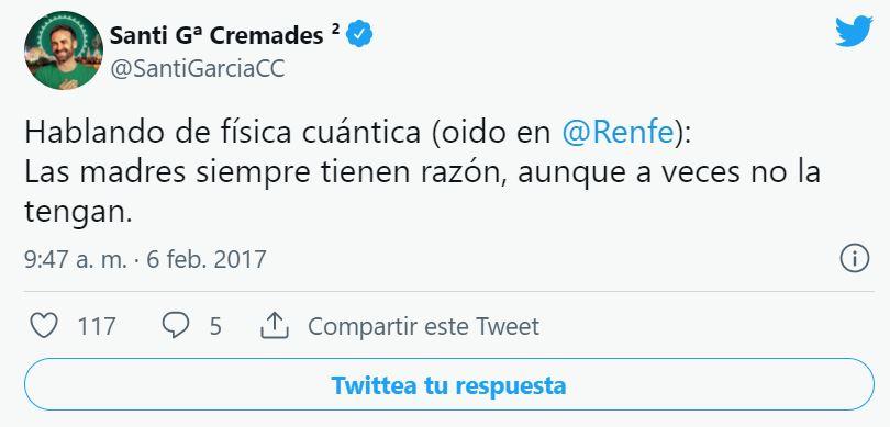 El community manager de Renfe, el Albert Einstein de Twitter